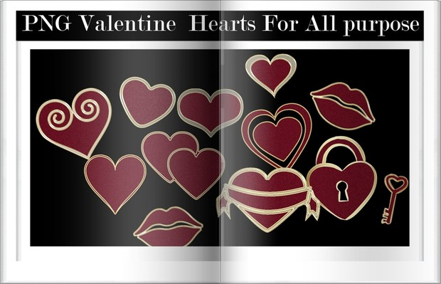 Png Hearts For All purpose