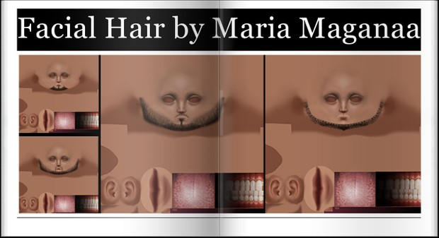 Male Facial hair By maria Maganaa