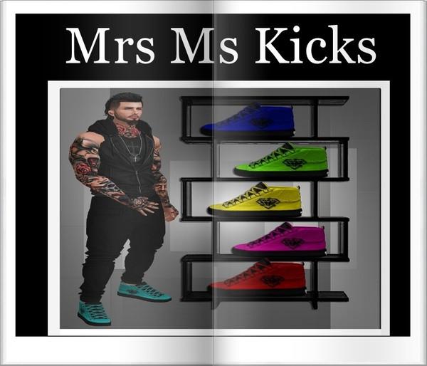 Mrs Ms Kicks