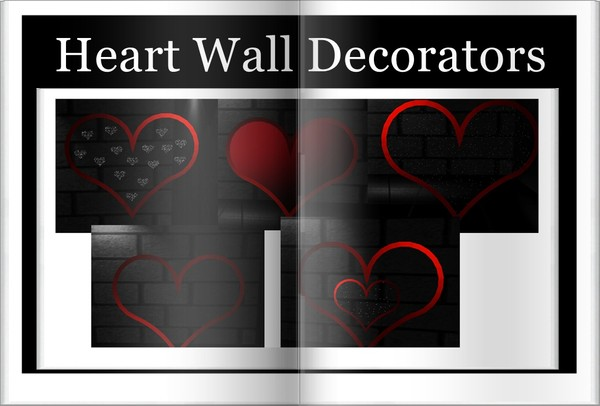 Heart  Wall decorator