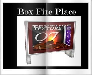Box  fire Place