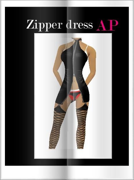 Zipper Dress Ap
