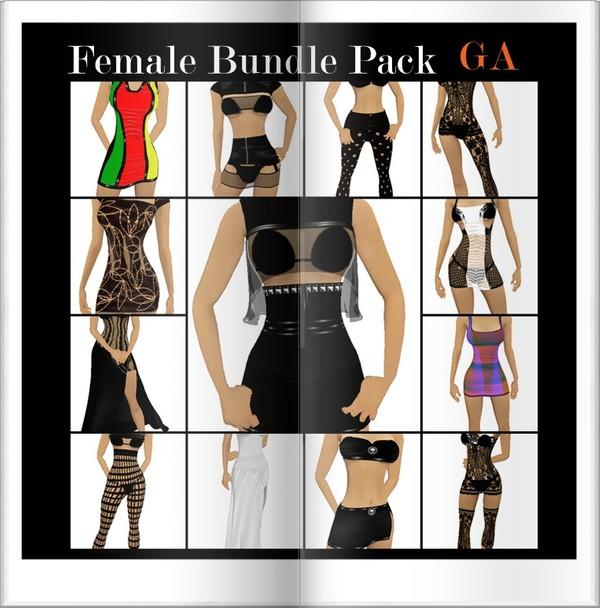 Female Bundle Pack GA