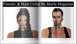 FEMALE & MALE COLLAR