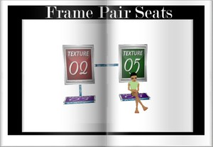 Frame pair set