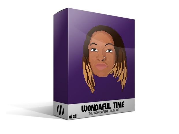 Wondaful Time - The Official WondaGurl Drum Kit