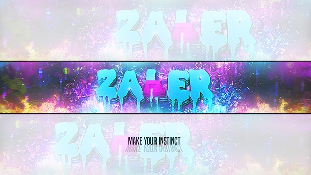 My Banner Abstract Personal PSD!!