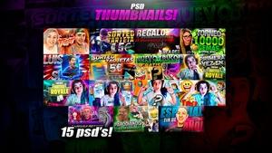 15 PSD THUMBNAILS!