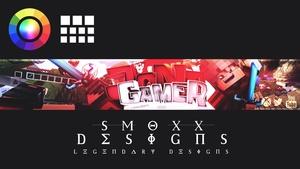 Minecraft Banner =SmoxxDesigns=