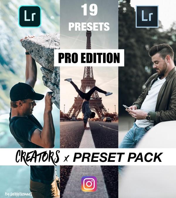 Instagram Creators x Lightroom Mobile Presets // Sam Kolder Inspired & more