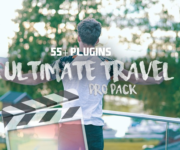 ULTIMATE FILMMAKERS TRAVEL PACK PRO // 55+ Plugins | Final Cut Pro X