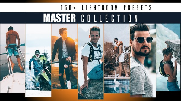 MASTER COLLECTION x Lightroom Presets (by SverreGlomnes) // 160+ presets