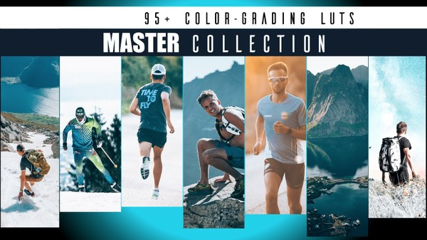 MASTER COLLECTION x Color Grading LUT's (by SverreGlomnes) // 95+ LUT's