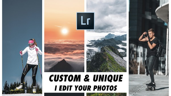 I will Professionally edit YOUR photos in Adobe Lightroom