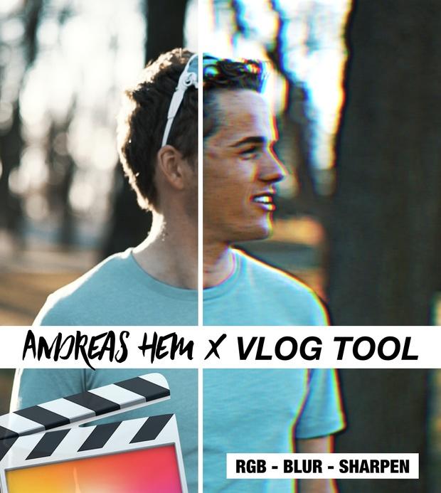 Andreas Hem x VLOG Tool // RGB, Sharpen, Blur - (by SverreGlomnes)