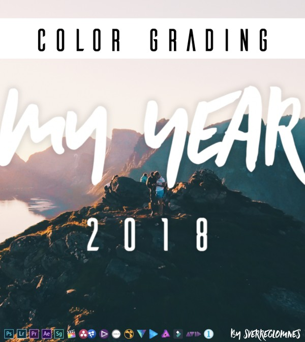 My Year 2018 - (Sverre Glomnes) x COLOR GRADING LUT