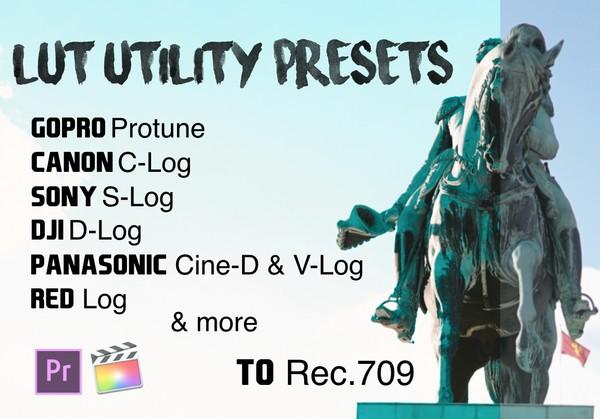 19 Original Free Lut Utility Presets