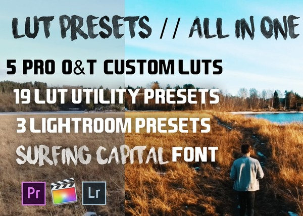 Pro Lut Presets // SRG - All in One