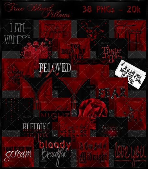 True Blood Pillows