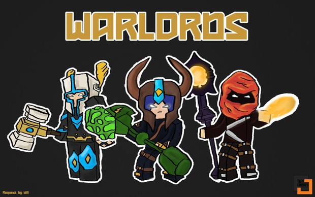 Minecraft Hypixel Warlords Wallpaper