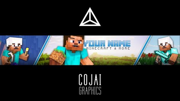 FREE Minecraft Banner Template #2