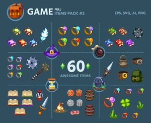Game Items Pack #2