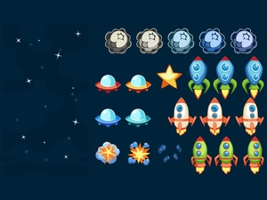 Asteroid Game Pack