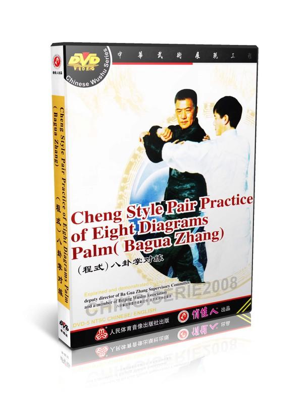 DW112-02 Cheng Style Ba Gua Zhang - Pair Practice of Eight Diagrams Palm by Liu Jingru MP4