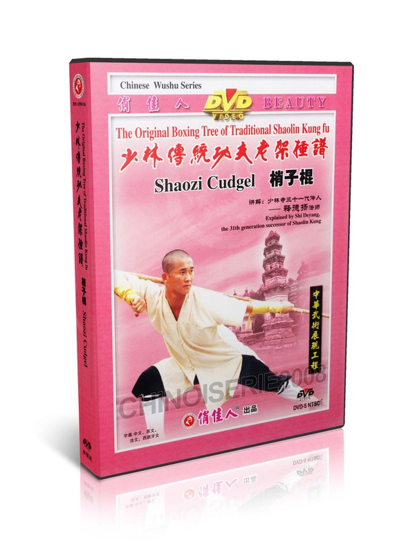 DW081-29 Traditional Shaolin Kungfu Series - Shao Lin Shaozi Cubgel by Shi Deyang MP4