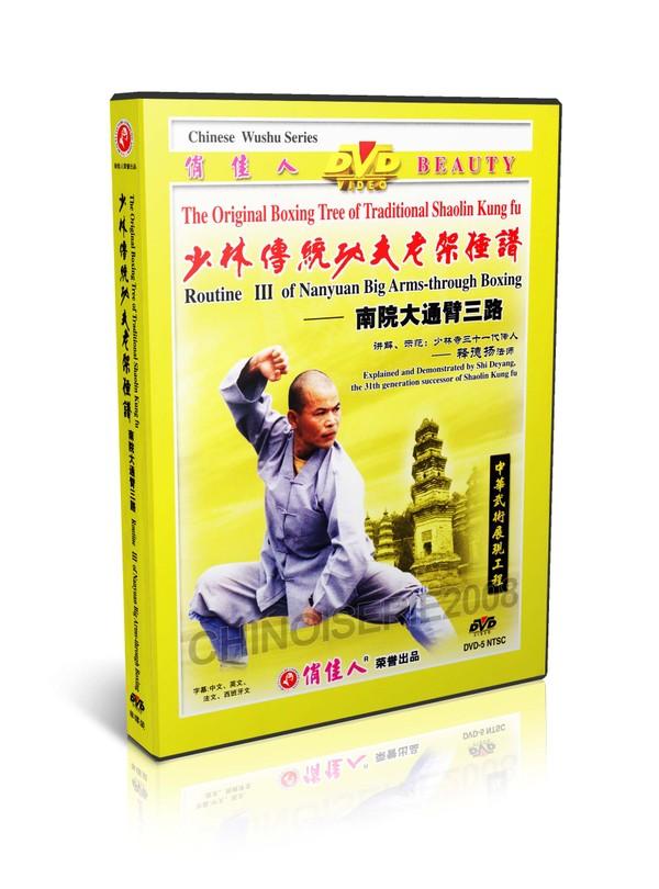 DW081-11 Traditional Shaolin Kungfu - ShaoLin Routine III Nanyuan Back through Boxing MP4