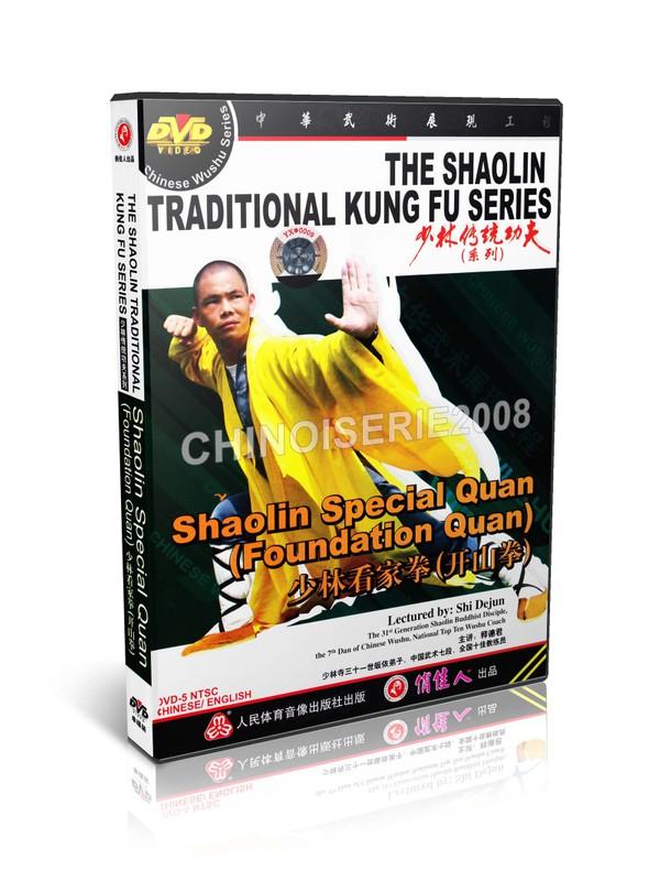 DW110-07 ShaoLin Traditional Kungfu Shaolin Special Quan (Foundation Quan)- Shi Dejun MP4