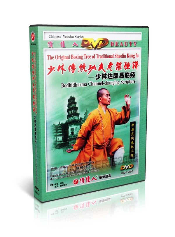 DW081-06 Traditional Shaolin Kungfu Series - Bodhidharma Channel changing Scripture MP4