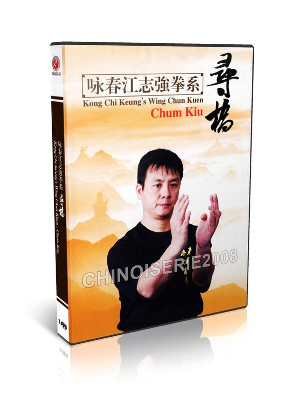 DW222-03 Kong Chi Keung's Wing Chun Quan Yong Chun - Chum Kiu by Jiang Zhiqiang MP4