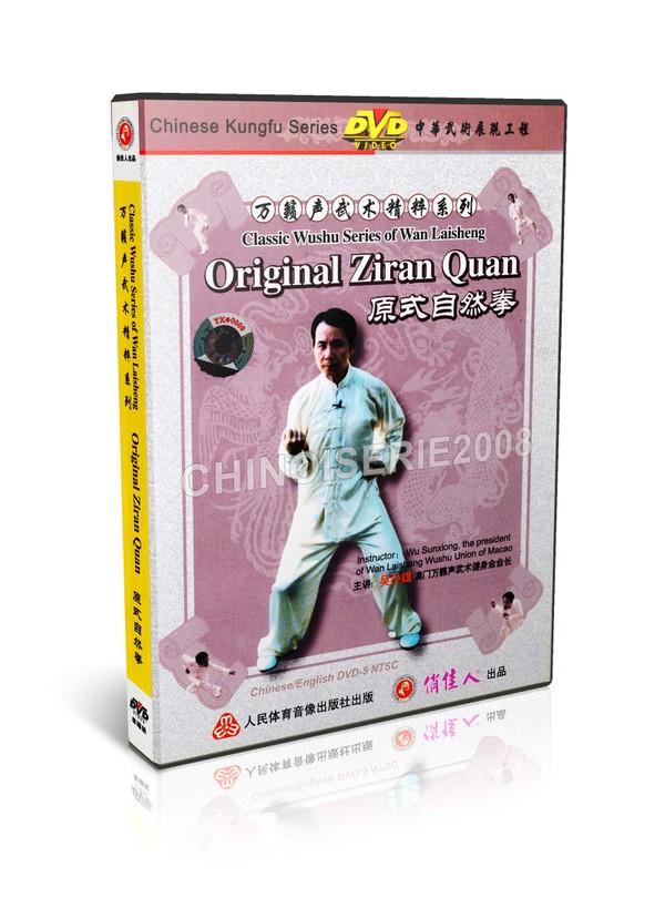 DW121-11 Classic Wushu Series of Wan Laisheng Original Boxing of Natural School MP4