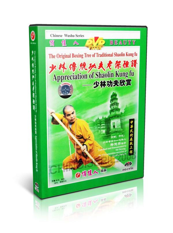 DW081-40 Traditional Shaolin Series - Appreciation of Shaolin Kungfu by Shi Deyang MP4