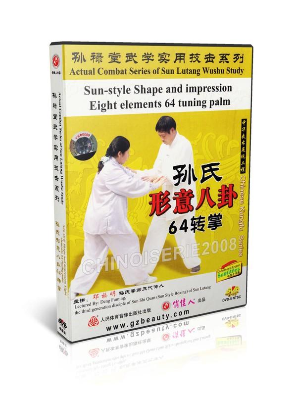 DW134-19 Sun Lutang Sun style Xingyi Eight elements 64 tuning palm by Deng Fuming MP4