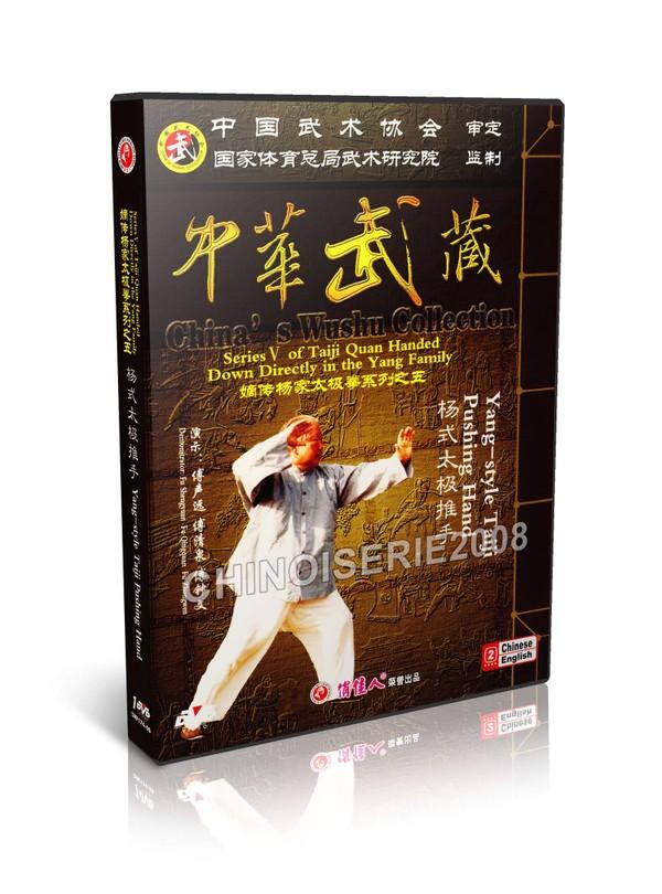 DW174-05 Yang Style Tai Chi Taiji Taijiquan - Pushing Hand Fu Shengyuan MP4