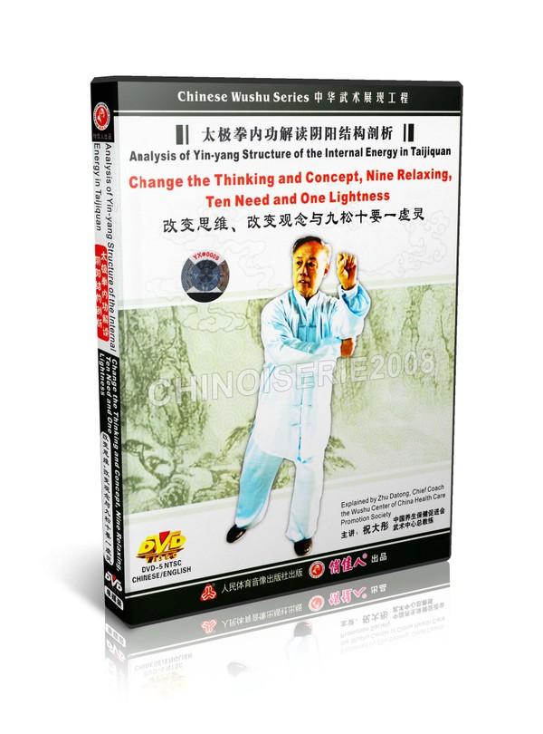 DW120-03 Tai Chi Qigong Series Nine Relaxing Ten Need and one Lightness by Zhu Datong MP4