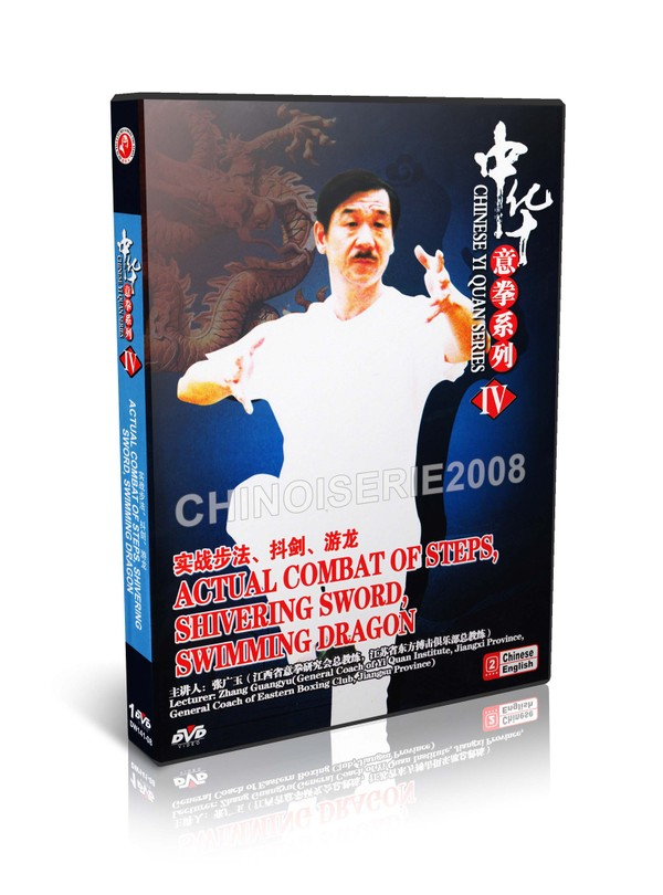 DW141-08 Yi Quan (Da Cheng Quan) Actual Combat of Steps Shivering Sword -Zhang Guanyu MP4