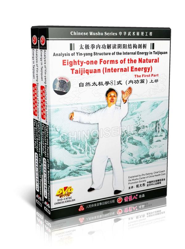 DW120-01-02 Tai Chi Qigong Natural Taijiquan 81 Forms (Internal Energy) by Zhu Datong MP4