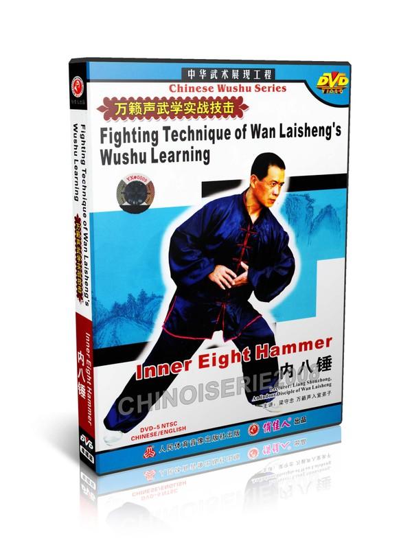 DW115-03 Wan Laisheng's Wushu Kungfu Learning Inner Eight Hammer by Liang Shouzhong MP4