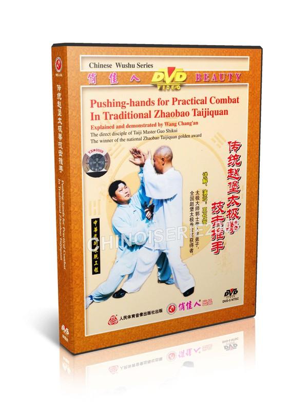DW095-03 Zhaobao Traditional Taichi Taijiquan Pushing Hands For Practical Combat MP4