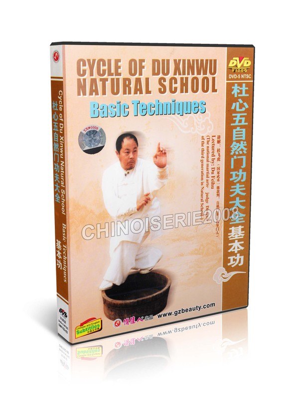 DW152-02 Cycle of Du Xinwu Natural School martial art - Basic Technique by Du Feihu MP4
