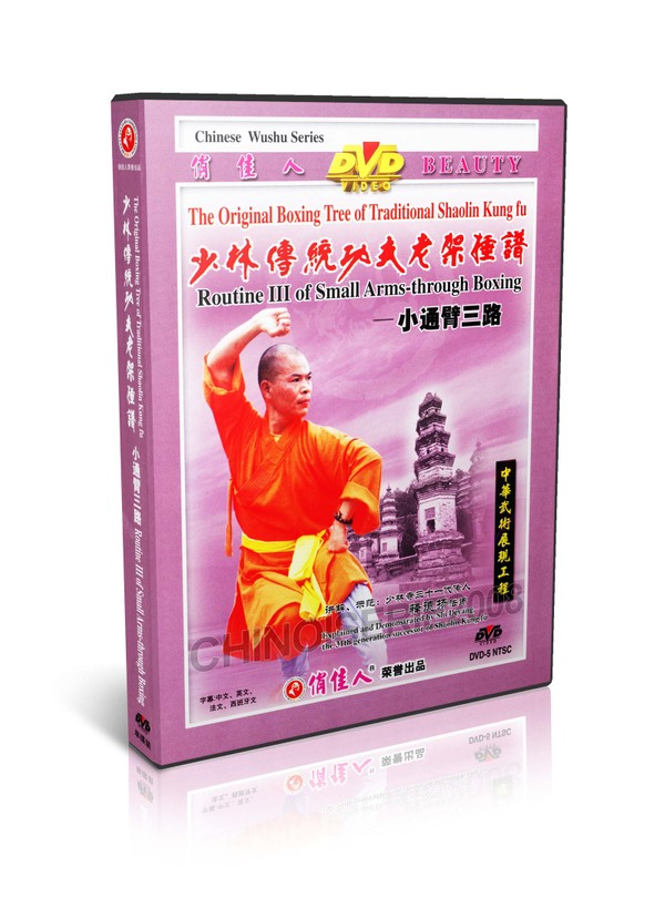 DW081-16 Traditional Shaolin Kungfu Series - Routine III of Small Back through Boxing MP4