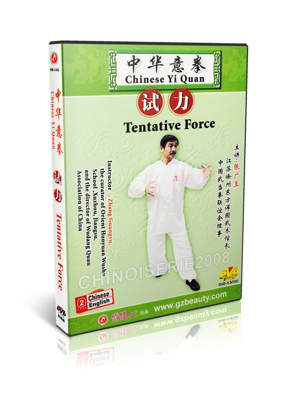 DW141-02 Chinese Kunfu Yi Quan ( Da Cheng quan ) - Tentative Force by Zhang Guangyu MP4