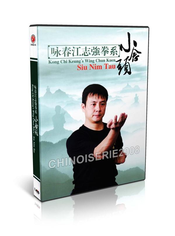 DW222-04 Kong Chi Keung's Wing Chun Quan Yong Chun - Siu Nim Tau by Jiang Zhiqiang MP4