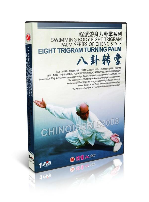 DW207-08 Cheng Style bagua Series - Ba Gua Zhang - Bagua Turning Plam by Sun Zhijun MP4