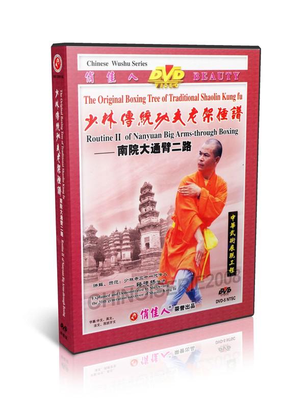 DW081-10 Traditional Shaolin Kungfu ShaoLin Routine II of Nanyuan Back through Boxing MP4