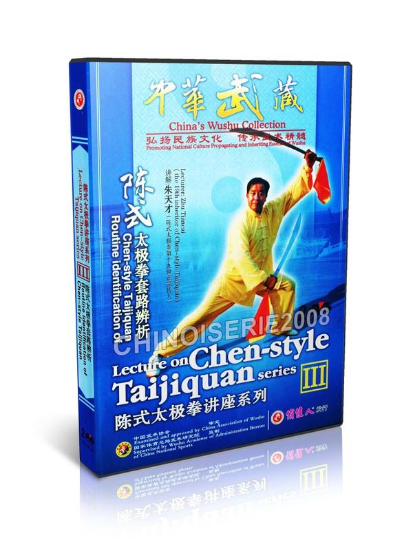 DW193-03 Chinese Kung fu Routine identification of Chen style taijiquan Zhu Tiancai MP4