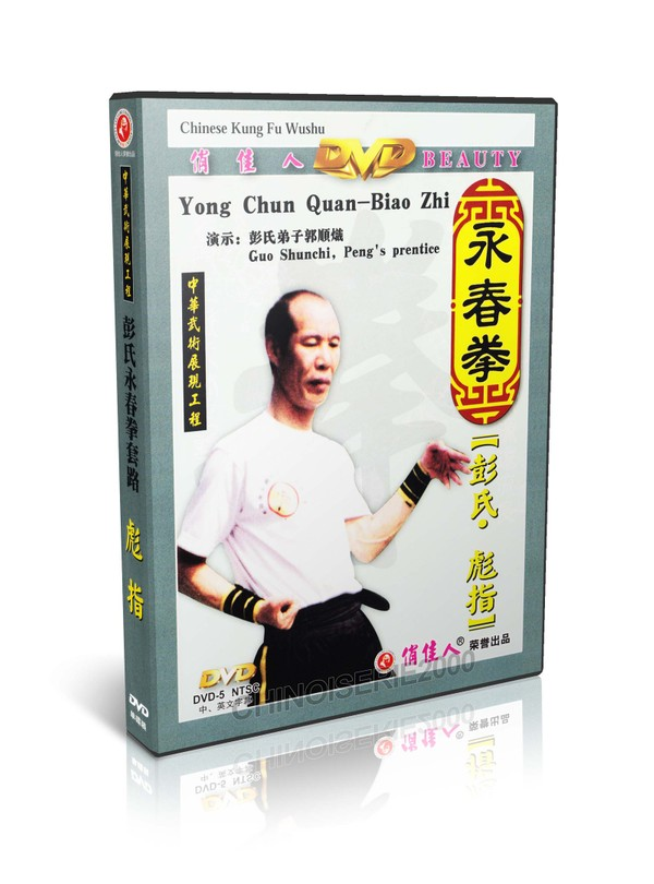DW003 Chinese Kungfu Wushu Yong Chun Quan Wing Chun Series Biao Zhi - Peng Shusong MP4